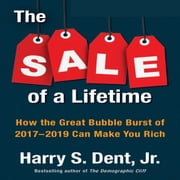 The Sale of a Lifetime - How the Great Bubble Burst of 2017-2019 Can Make You Rich audiobook by Harry S. Dent