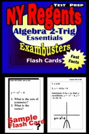 NY Regents Algebra 2-Trigonometry Test Prep Review--Exambusters Flashcards - New York Regents Exam Study Guide ebook by Regents Exambusters