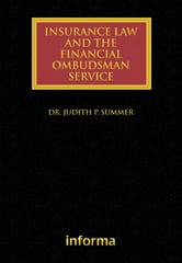 Insurance Law and the Financial Ombudsman Service ebook by Judith Summer