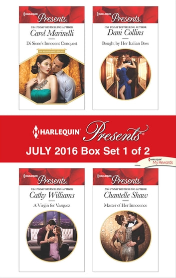 Harlequin Presents July 2016 - Box Set 1 of 2 - An Anthology eBook by Carol Marinelli,Cathy Williams,Dani Collins,Chantelle Shaw