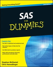 SAS For Dummies ebook by Stephen McDaniel,Chris Hemedinger