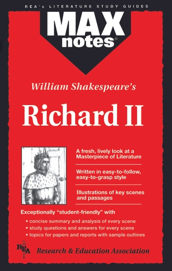 Richard II (MAXNotes Literature Guides) ebook by Michael Morrison