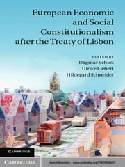 European Economic and Social Constitutionalism after the Treaty of Lisbon ebook by Professor Dagmar Schiek,Professor Ulrike Liebert,Professor Hildegard Schneider