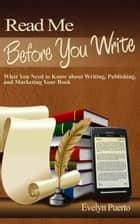 Read Me Before You Write ebook by Evelyn Puerto