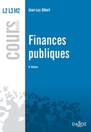 Finances publiques ebook by Luc Saidj,Jean-Luc Albert