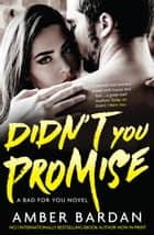 Didn't You Promise ebook by Amber Bardan