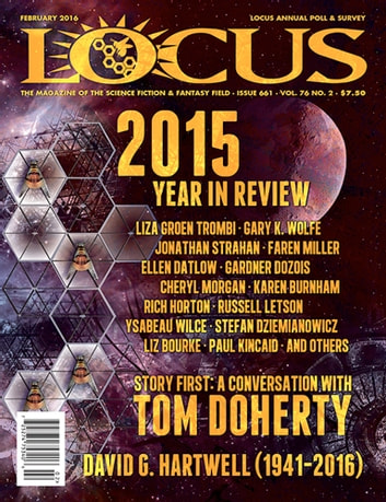 Locus Magazine, Issue #661, February 2016 ebook by Locus Magazine