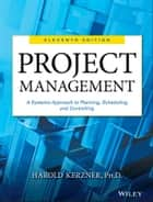 Project Management ebook by Harold Kerzner
