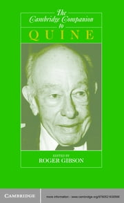 The Cambridge Companion to Quine ebook by Roger F. Gibson Jr