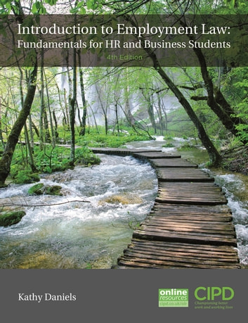 Introduction To Employment Law - Fundamentals for HR and Business Students ebook by Kathy Daniels