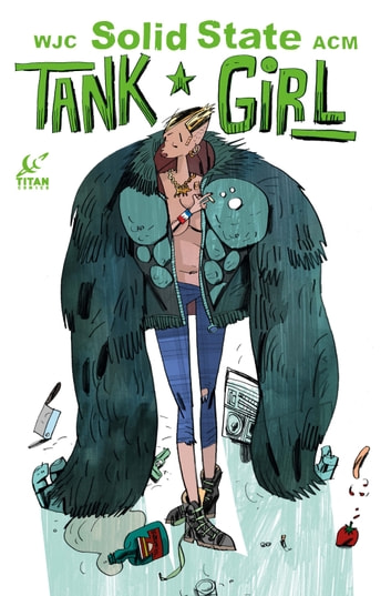 Solid State Tank Girl #1 ebook by Alan C. Martin,Warwick Johnston-Cadwell