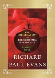 Richard Paul Evans Ebook Christmas Set - Christmas List, Christmas Box Miracle, Finding Noel ebook by Richard Paul Evans