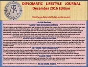 Diplomatic Lifestyle Journal December 2016 Edition ebook by Alfred Mbati
