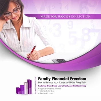 Family Financial Freedom - How to Balance Your Budget and Drive Away Debt audiobook by Made for Success,Laura Stack CSP, MBA,Brian Tracy,Matthew Ferry