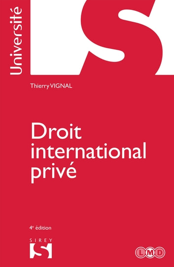 Droit international privé ebook by Thierry Vignal