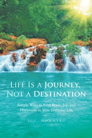 LIFE IS A JOURNEY, NOT A DESTINATION - Simple Ways to Find Peace, Joy, and Happiness in Your Everyday Life ebook by T. C. DOWNING