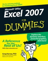 Excel 2007 For Dummies ebook by Greg Harvey