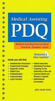 Medical Assisting PDQ - E-Book ebook by Tracie Fuqua, BS, CMA (AAMA),...