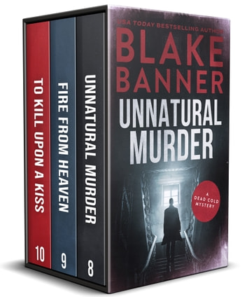 Dead Cold Mysteries Box Set #3: Books 8-10 ebook by Blake Banner