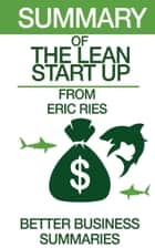 The Lean Startup | Summary ebook by Better Business Summaries