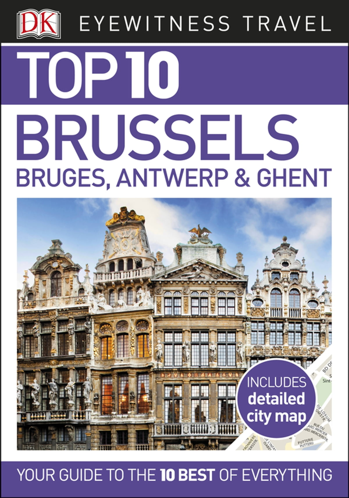 Top 10 Brussels Bruges Antwerp Ghent eBook by DK Travel