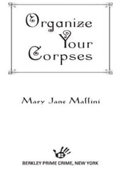 Organize Your Corpses ebook by Mary Jane Maffini
