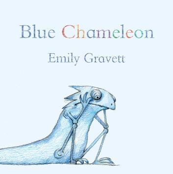 Blue Chameleon - with audio recording ebook by Emily Gravett
