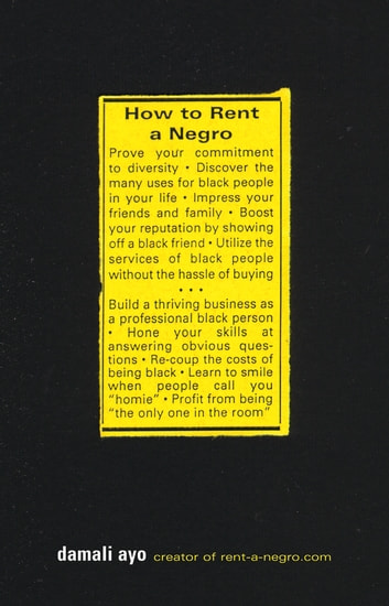 How to Rent a Negro ebook by damali ayo