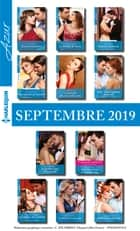 11 romans Azur + 1 gratuit (n°4125 à 4135 - Septembre 2019) ebook by Collectif