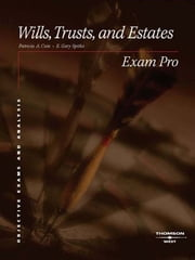 Cain and Spitko's Exam Pro on Wills, Trusts, and Estates ebook by Patricia Cain,Gary Spitko