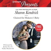 Claimed for Makarov's Baby - w/ Bonus Novella: Christmas at the Castello audiobook by Sharon Kendrick, Amanda Cinelli