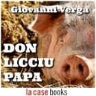 Don Licciu Papa audiobook by Giovanni Verga