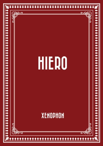 Hiero ebook by Xenophon