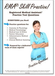 RMA Skill Practice - Registered Medical Assistant Practice Test Questions ebook by Complete Test Preparation Inc.