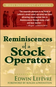 Reminiscences of a Stock Operator ebook by Roger Lowenstein,Edwin Lefèvre