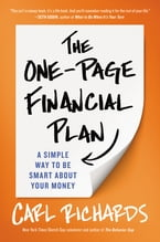 The One-Page Financial Plan, A Simple Way to Be Smart About Your Money