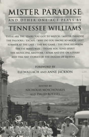 Mister Paradise and Other One-Act Plays ebook by Tennessee Williams