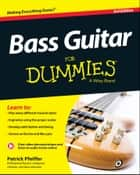 Bass Guitar For Dummies e-bog by Patrick Pfeiffer
