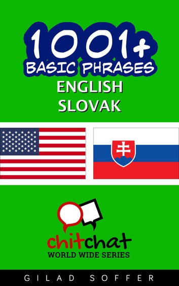 1001+ Basic Phrases English - Slovak ebook by Gilad Soffer