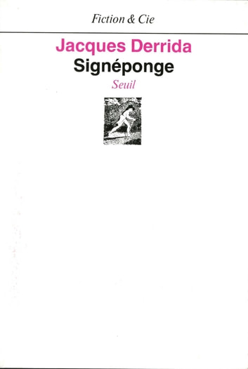 Signéponge ebook by Jacques Derrida
