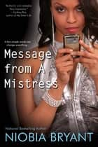 Message from a Mistress ebook by Niobia Bryant