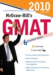McGraw-Hill's GMAT, 2010 Edition ebook by James Hasik,Stacey Rudnick