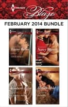 Harlequin Blaze February 2014 Bundle - A SEAL's Salvation\Texas Outlaws: Billy\Game On\Hard to Hold ebook by Tawny Weber, Kimberly Raye, Nancy Warren,...