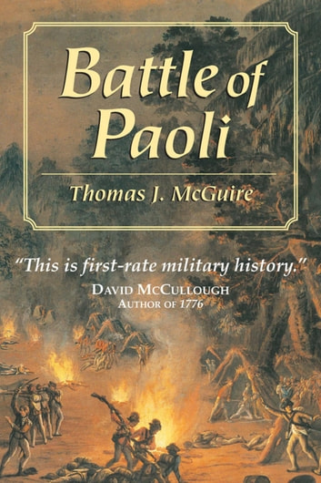 Battle of Paoli ebook by Thomas J. McGuire