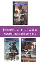Harlequin Intrigue August 2015 - Box Set 1 of 2 - An Anthology ebook by Delores Fossen, Rita Herron, HelenKay Dimon