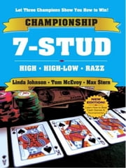 Championship 7-Stud ebook by Linda Johnson, Max Stern, Tom McEvoy