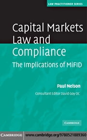 Capital Markets Law and Compliance ebook by Nelson,Paul