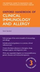 Oxford Handbook of Clinical Immunology and Allergy 電子書 by Gavin Spickett