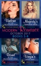Modern Romance Collection: October 2017 5 - 8 (Mills & Boon e-Book Collections) eBook by Annie West, Dani Collins, Heidi Rice,...