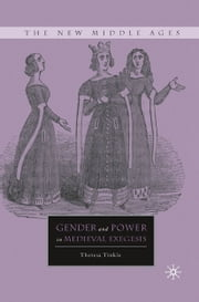 Gender and Power in Medieval Exegesis ebook by T. Tinkle